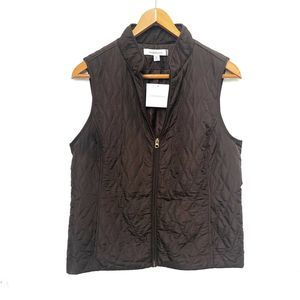 3/$25 Croft and Barrow | NWT Womens Brown Vest